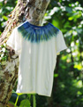 MENS T BLUE GREEN SUN